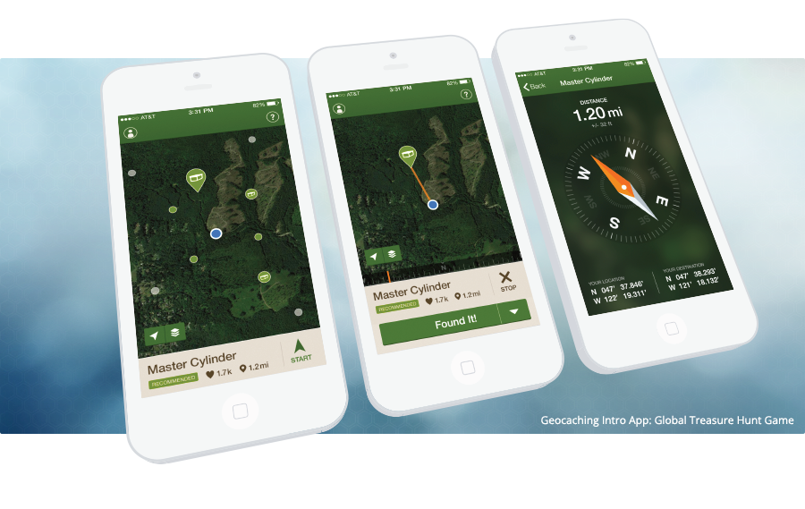 Official Geocaching Intro App