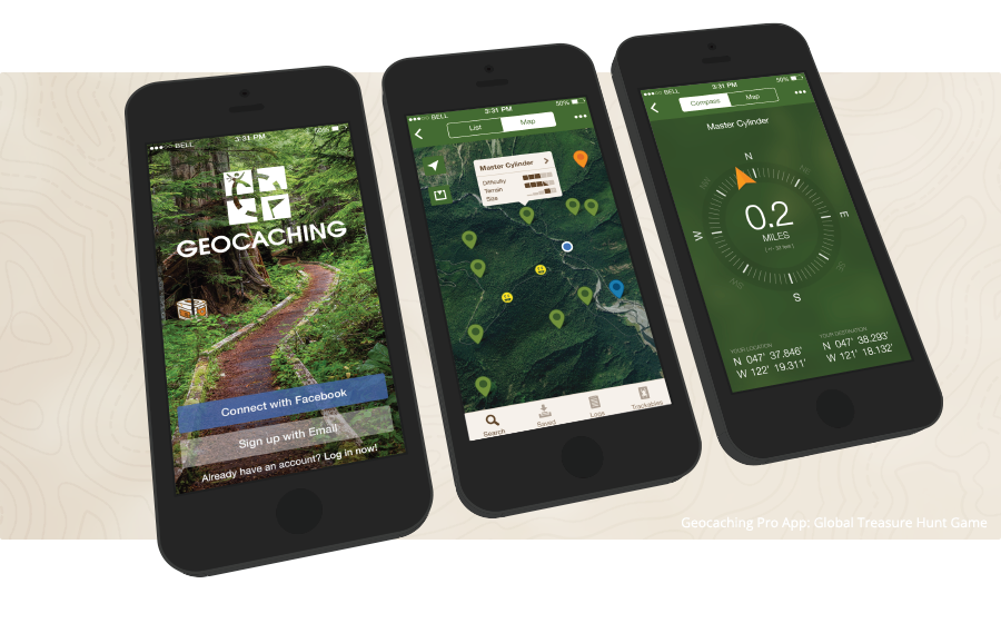 Official Geocaching iPhone App